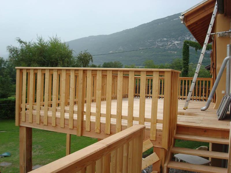 terrasse bois à Chindrieux
