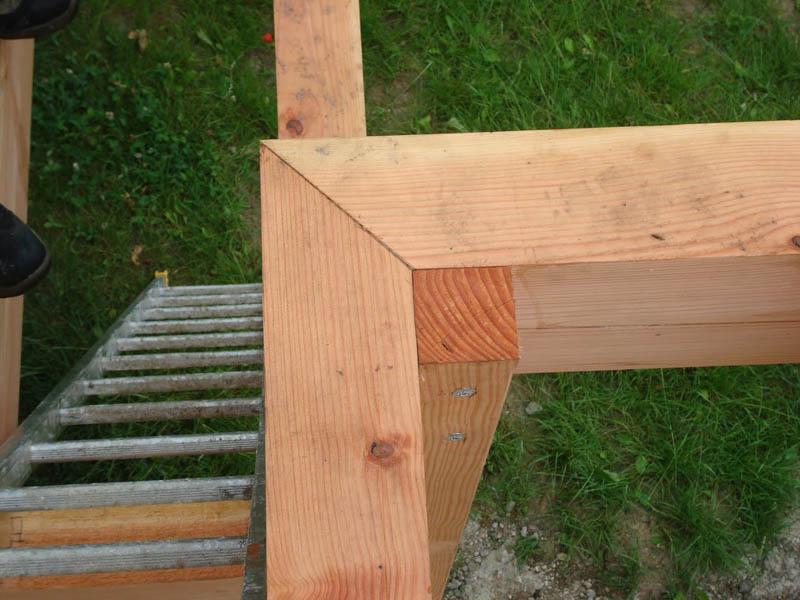 assemblage terrasse bois à Chindrieux